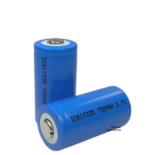 Энергия750mAh, 3V, Li-ion
