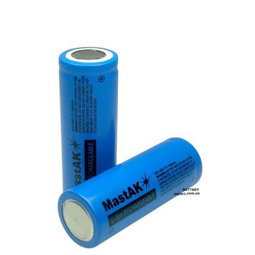 MastAK1400mAh, 3.7V, Li-ion