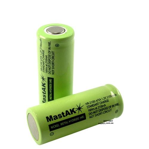 MastAK1300mAh, Ni-Cd, 1.2V