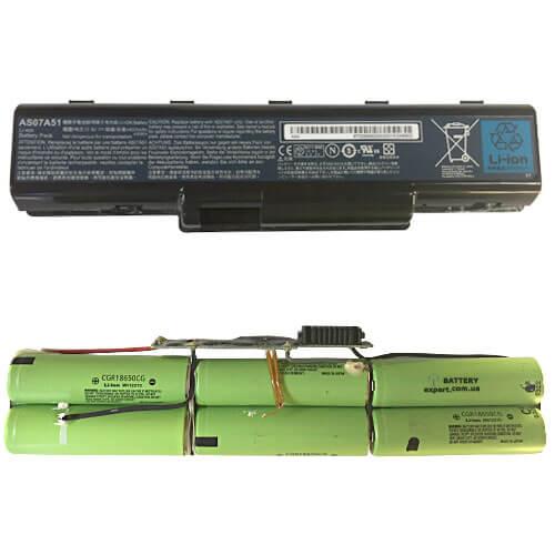 Acer (AS07A51) 10.8V4400mAh, Li-ion
