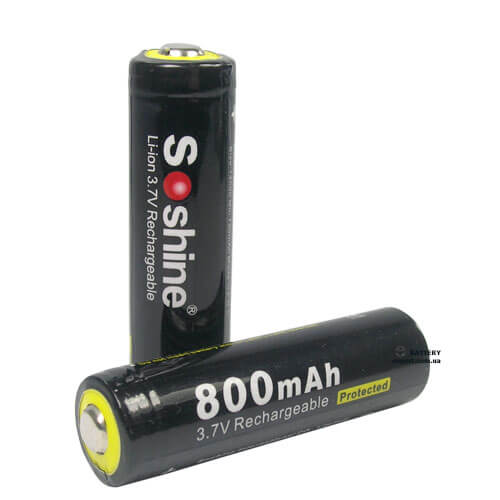 Soshine800mAh, 3.7v, Li-ion