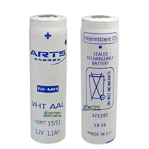 ARTS energy (Saft)1100mAh, Ni-MH, 1.2V