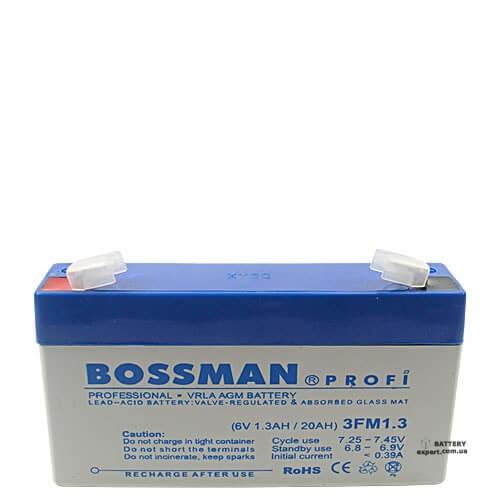 Bossman  3FM1.36V, 1.3Ah
