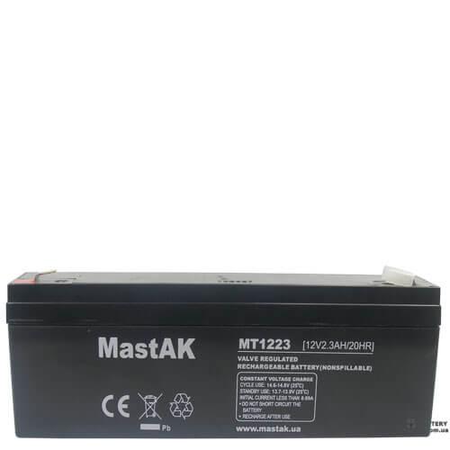 MastAK  MT122312v, 2.3Ah