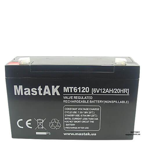 MastAK  MT6286V, 2.8Ah