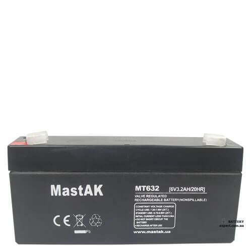 MastAK  MT6136v, 1.3Ah