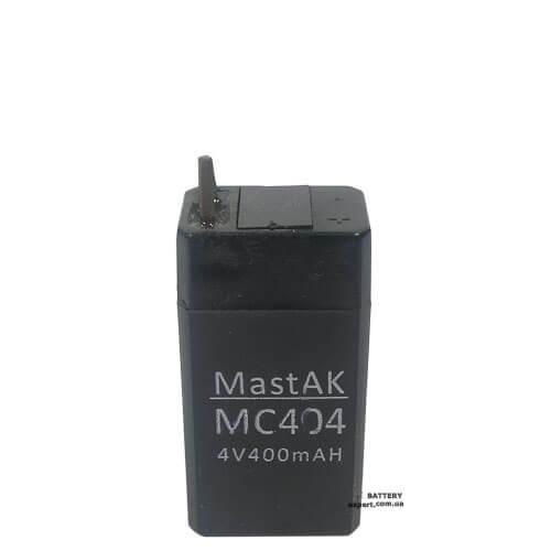MastAK MC4044v, 400 mAh