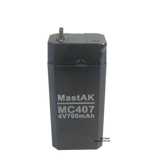 MastAK MC4064v, 600 mAh