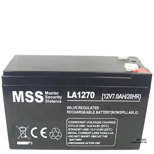 MSS  LA127012v, 7Ah