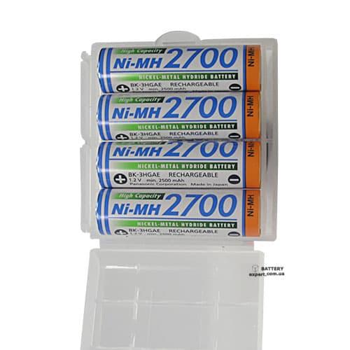 Panasonic2700mAh, 1.2v, Ni-Mh