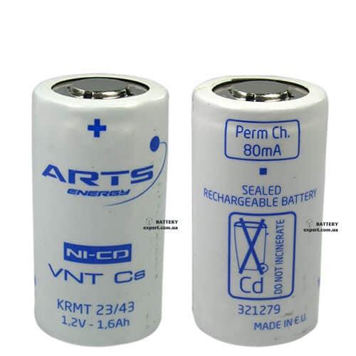 ARTS energy (Saft)1650mAh, Ni-CD, 1.2v