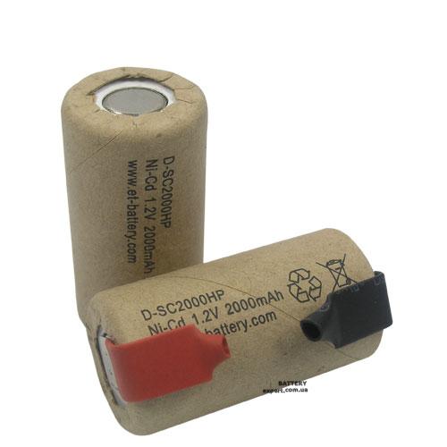 Energy Technology (ET)2000mAh, NiCD, 1.2V