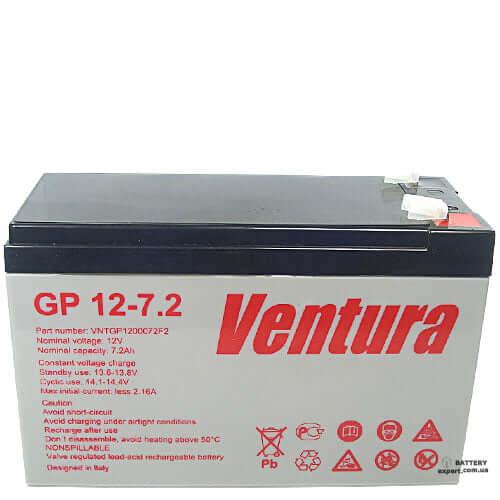 Ventura  GP 12-7.212v, 7.2Ah