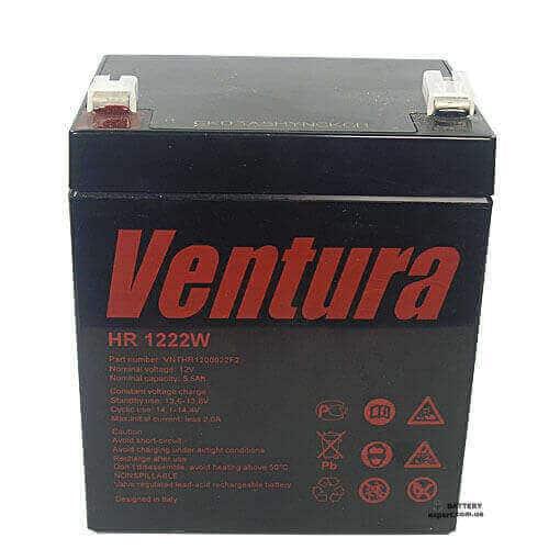 Ventura HR 1222W12V, 5.5Ah